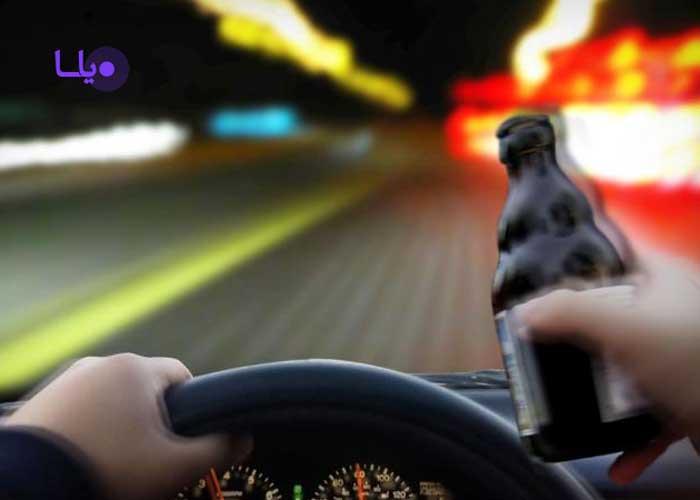 مجازات راننده مست
