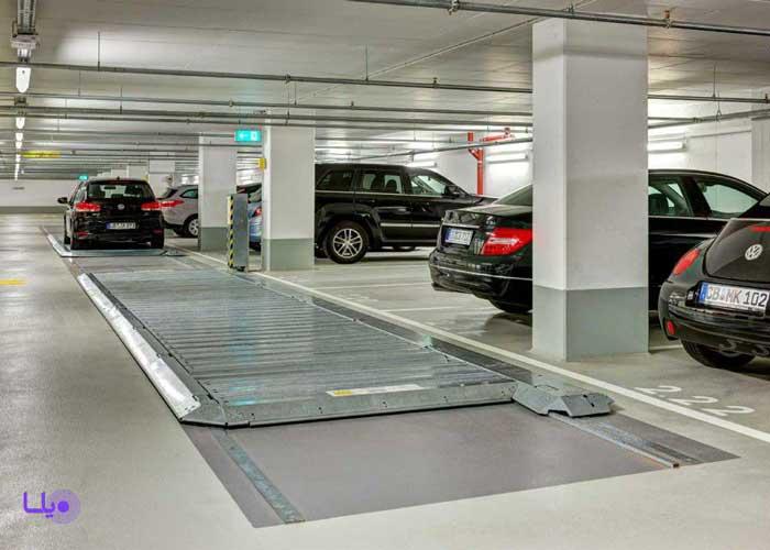 پارک کردن در خانه