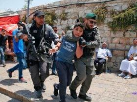 بازداشت کودکان و نوجوانان