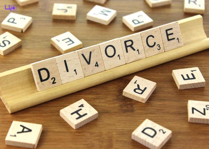 نمودار طلاق